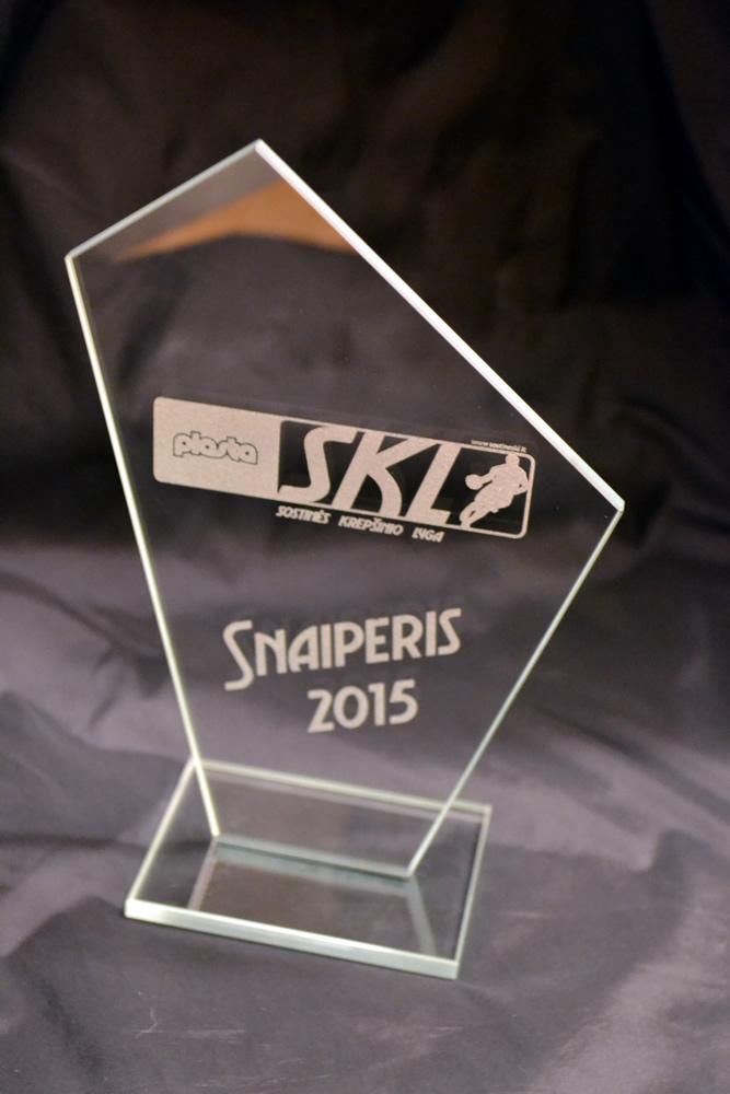 Apdovanojimas SKL snaiperiui