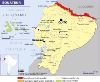 Map of Ecuador (Source » France, June 2021)