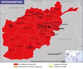 Map of Afghanistan (Source » France, June 2021)