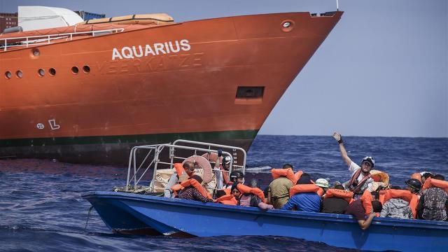 immigrazione aquarius