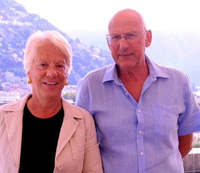 Carla Del Ponte et Clemente Gioia, 2011. Crédit photo M.Rossi
