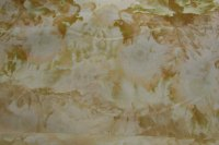 Yellow and tan snow dye