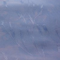 Blue-violet semi-solid hand-dyed rayon jacquard