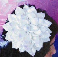 Flower fascinator pattern