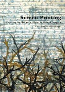 Screen printing book