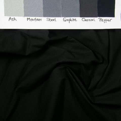 "Black KB10, ultra dark solid, 419, 30"" piece"