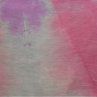 Pink, lavender and blue-grey vat dyed square - piece