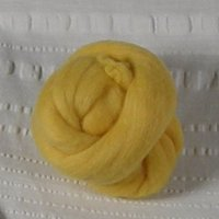 Golden yellow roving