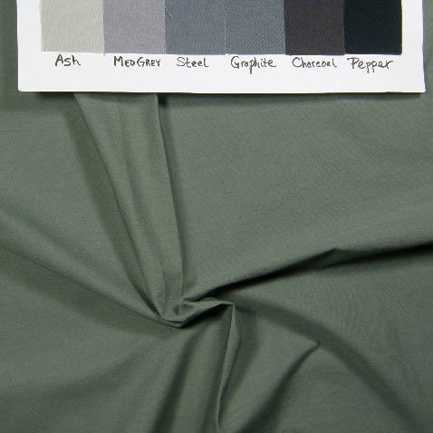 Medium grey-green solid
