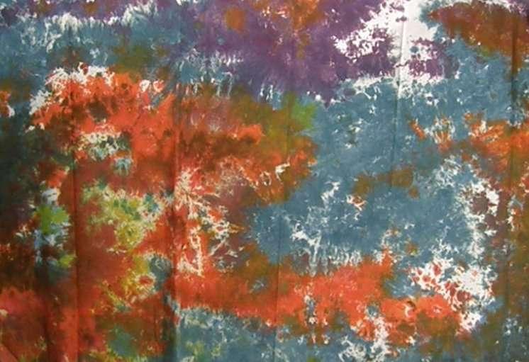 Multicolored cotton