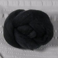 Roving, Merino, 1 oz ball, Charcoal feb2019