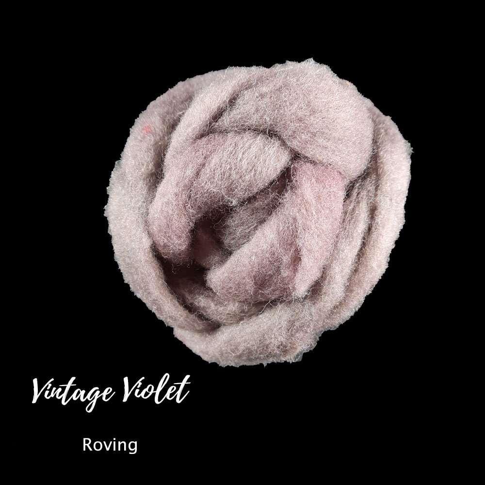 Vintage violet roving