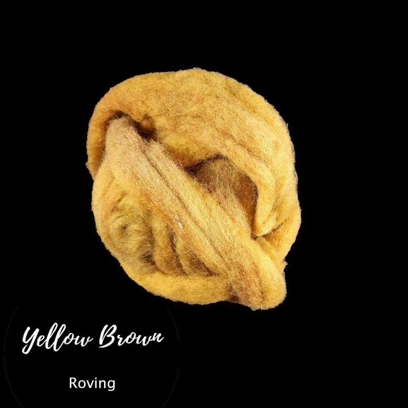 Yellow-brown roving