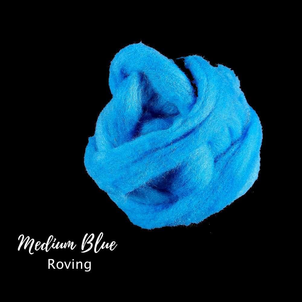 Medium Blue Roving