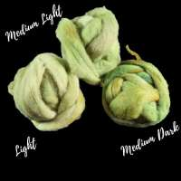 Comparing three values of green roving