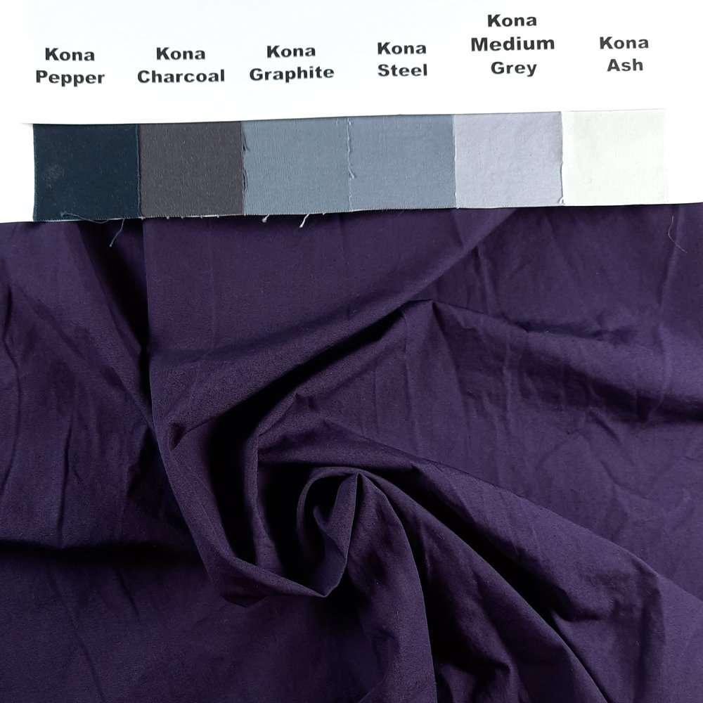 Ultra Dark Shadow Purple on Pimatex unironed