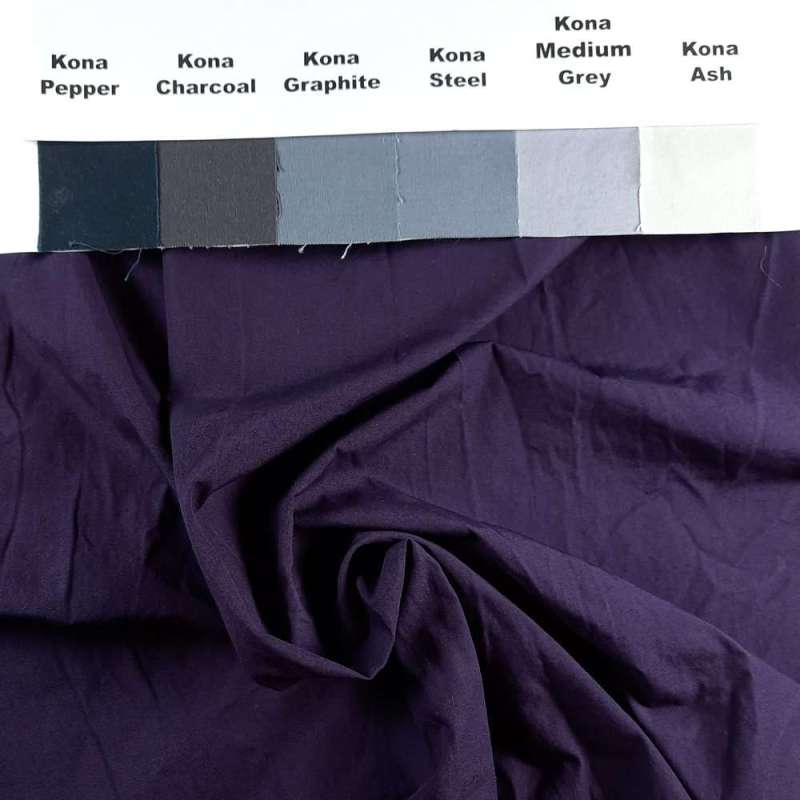 Ultra Dark Shadow Purple on Pimatex unironed