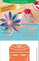 Small Gathered Kanzashi Flower Petal Maker from Clover #8484