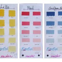 DippyDyes Virtual Solids Swatch Book