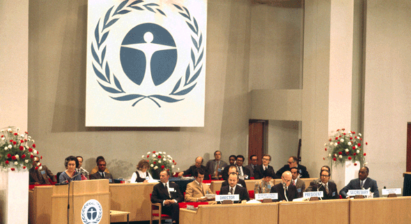 Environment Conference meets at Stockholm (5-16 June 1972)