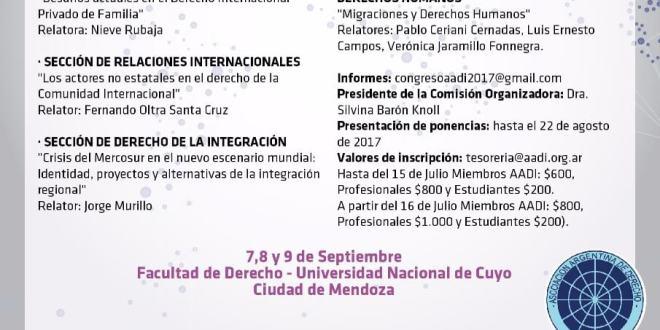 XXIX CONGRESO ARGENTINO DE DERECHO INTERNACIONAL