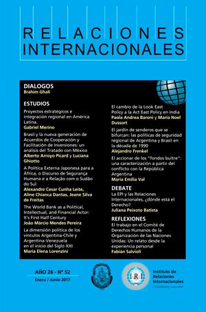Revista Relaciones Internacionales IRI