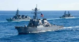 China protesta por incursión de buque de EE. UU. en aguas disputadas