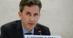 David Kaye, relator especial sobre el derecho a la libertad de opinión y expresión, es uno de los expertos independientes de la ONU que se pronunciaron este viernes sobre la situación en Venezuela. Foto: ONU/Jean-Marc Ferré