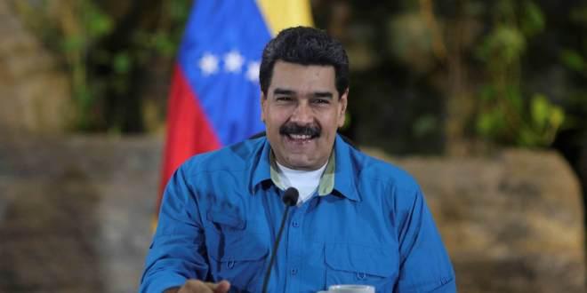 El presidente venezolano, Nicolás Maduro, durante una reunión de ministros el 8 de septiembre de 2017. HANDOUT REUTERS