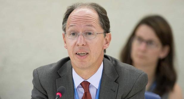 El relator especial sobre la promoción de la verdad, la justicia, la reparación y las garantías de no repetición, Pablo de Greiff, aplaudió el veredicto. Foto: Jean-Marc Ferré
