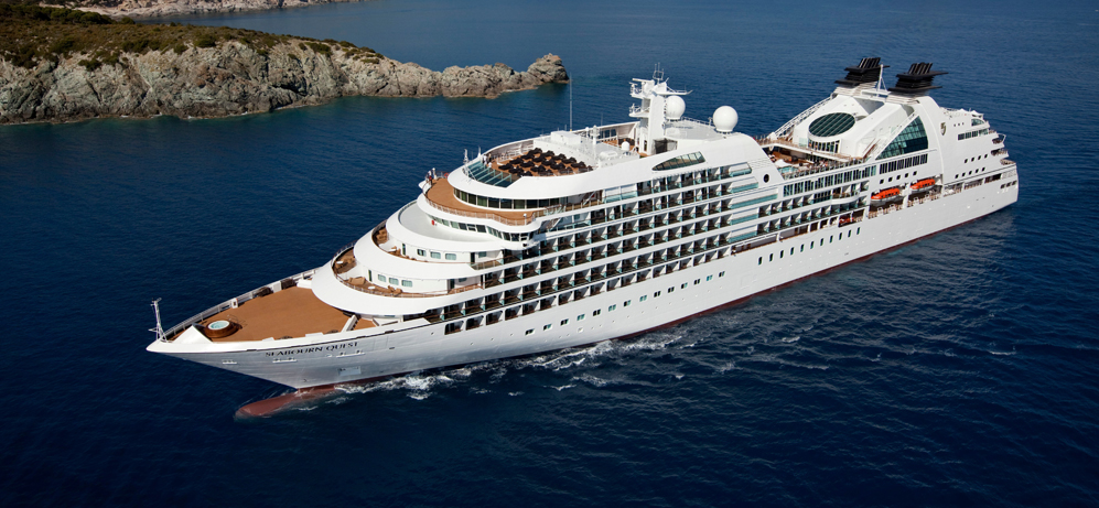 Seabourn NEW Ultra Luxury Cruise Line Sail For The First