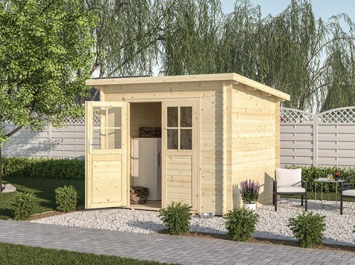 cabane de jardin en bois abri bois pas