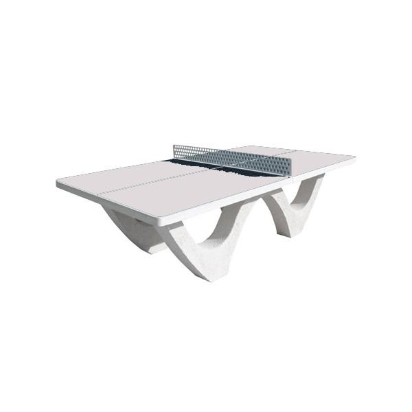 Table De Ping Pong Beton Design Plateau Brut
