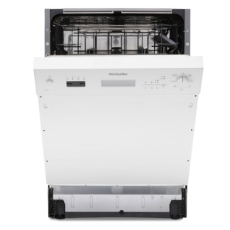Montpellier MDI655W Semi Integrated Dishwasher