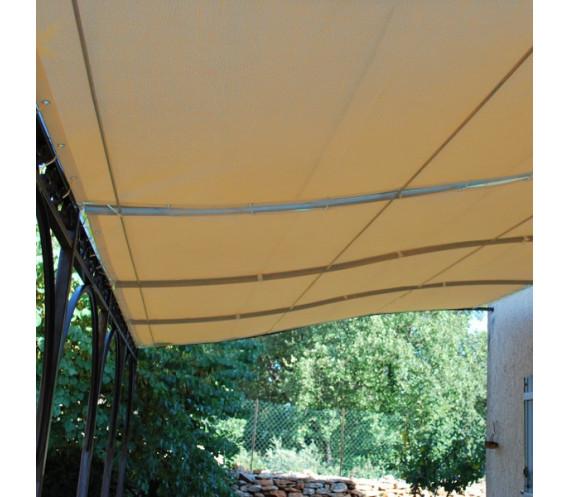 toile pergola impermeable rectangle 4 x 3 m