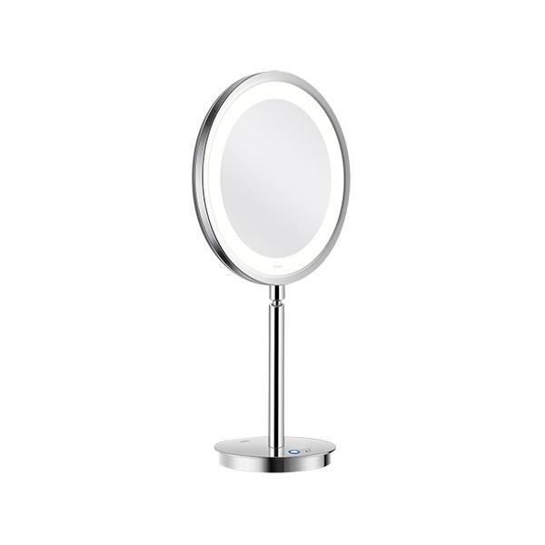 Miroir Grossissant Lumineux Sur Pied Led Saturn O22 Cm H45 Cm