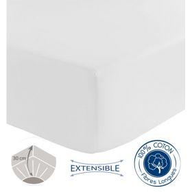 Drap Housse Special Grande Epaisseur Tradilinge Blanc 120x190