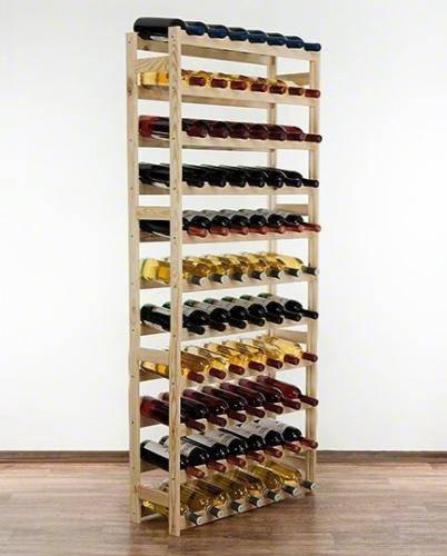 casier a vin en bois 77 bouteilles 3 teintes