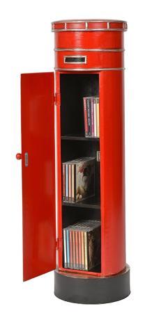 meuble range cd dvd ou livres style boite aux lettres anglaise