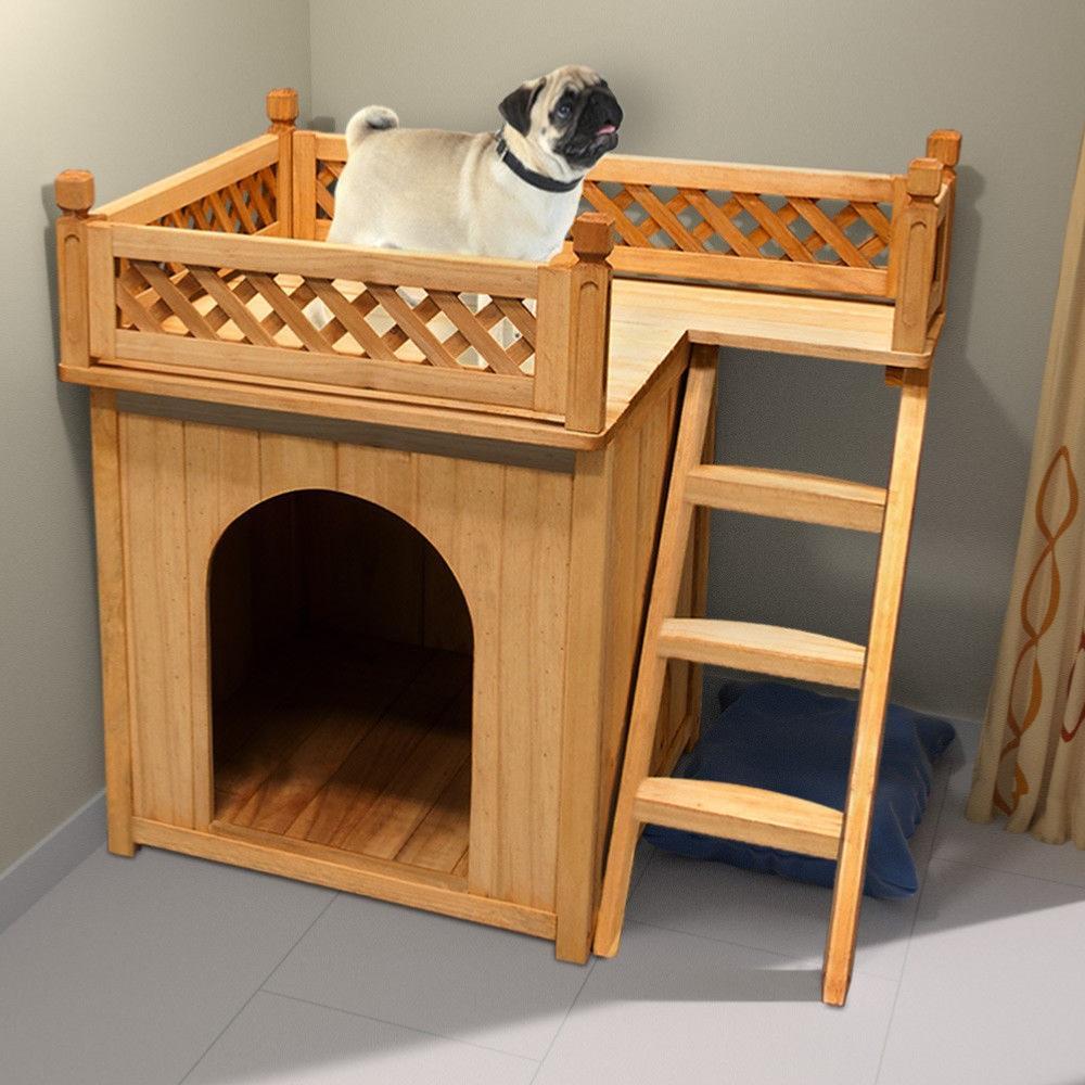 niche a chien avec terrasse