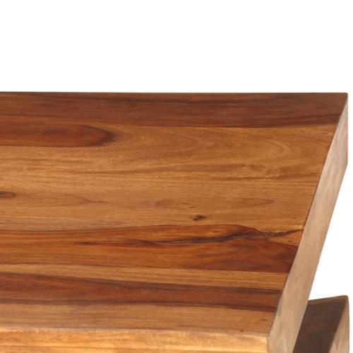 table basse 90 x 60 cm bois massif sesham alia