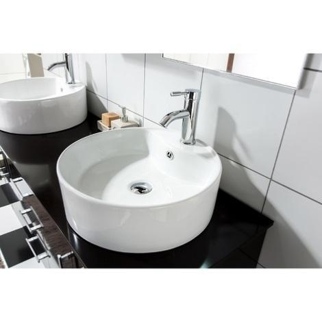 ensemble salle de bain complet 3 coloris modele ivoire