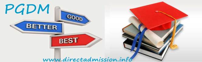 Direct admission PGDM
