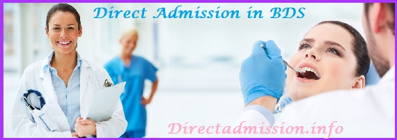 Direct admission BDS