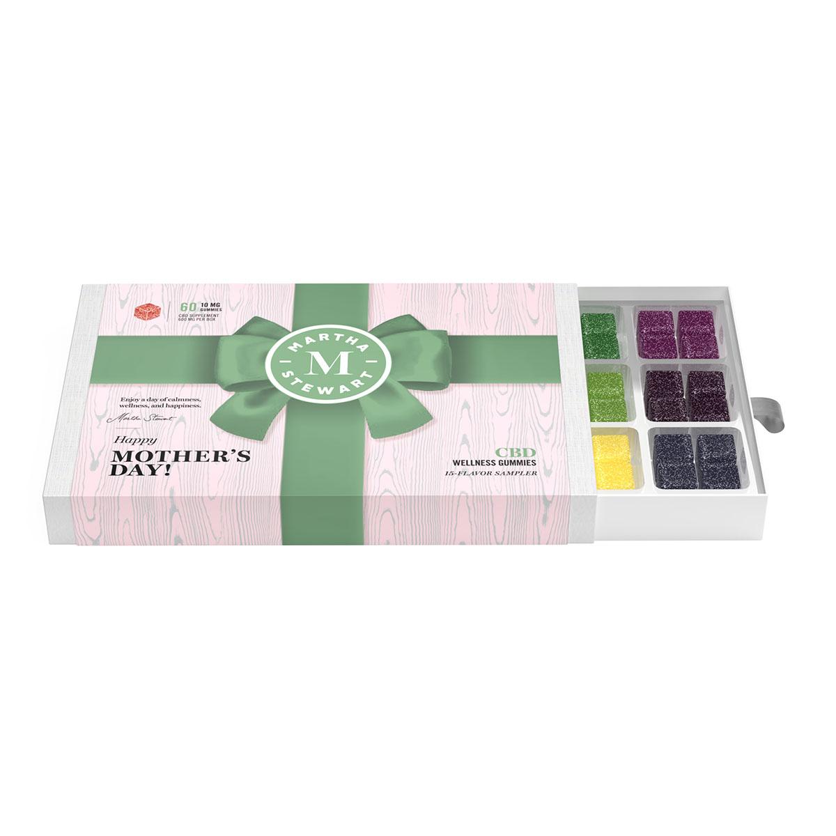 Martha Stewart CBD Wellness Gummies - Mothers Day Gift Box