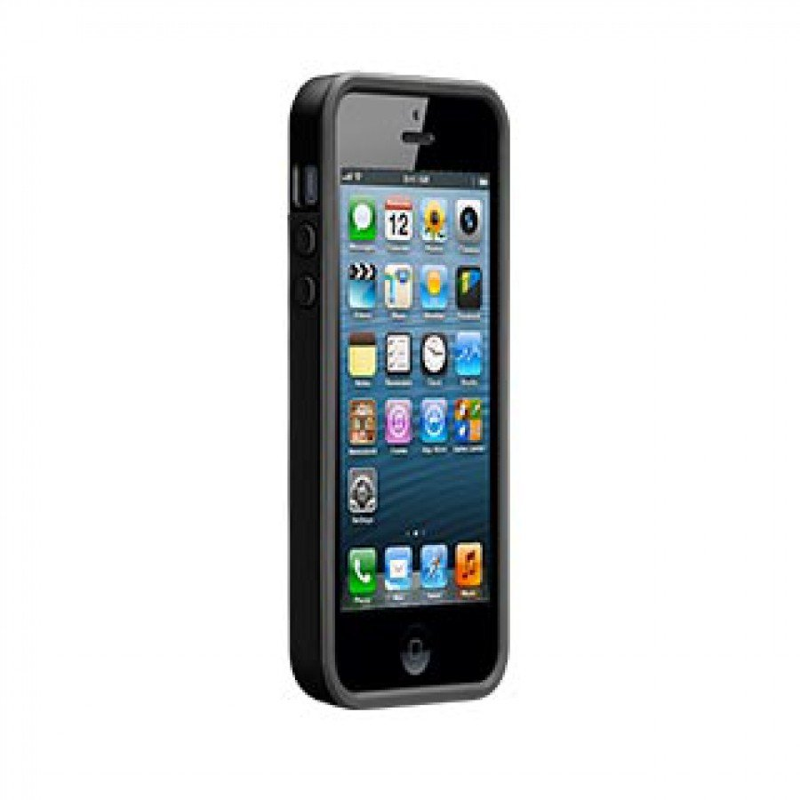 Iphone 5 5s Se Case Mate Black Pop Id 5se Kickstand Series Blackblack
