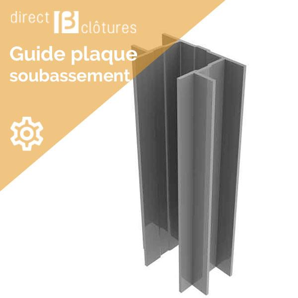 Guide Plaque Beton Pour Poteaux Decofor Direct Clotures
