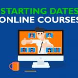 Starting dates online classes September/October