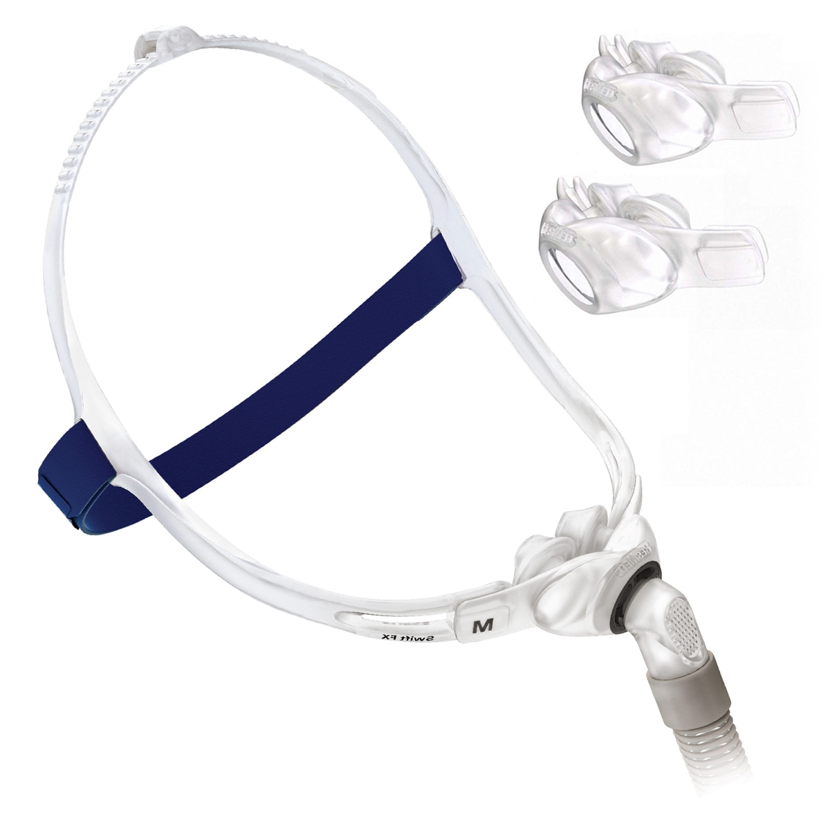 swift fx nasal pillows cpap mask fitpack with headgear