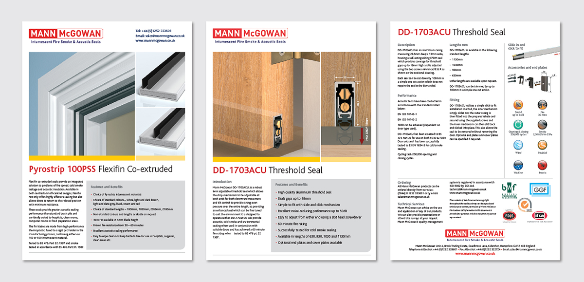 Data sheet design, artwork for technical publications,
